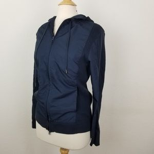 Vince Camuto Hooded Sweater Zip-Up Jacket